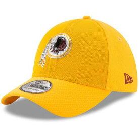 ニューエラ NEW ERA ワシントン レッドスキンズ ラッシュ バッグ キャップ 帽子 メンズキャップ メンズ 【 Washington Redskins 2017 Color Rush 39thirty Flex Hat - Gold 】 Gold
