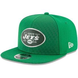 ニューエラ NEW ERA ジェッツ ラッシュ スナップバック バッグ 緑 グリーン キャップ 帽子 メンズキャップ メンズ 【 New York Jets 2017 Color Rush 9fifty Snapback Adjustable Hat - Green 】 Green