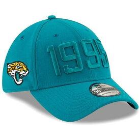 ニューエラ NEW ERA ジャクソンビル ジャガース サイドライン ラッシュ バッグ キャップ 帽子 メンズキャップ メンズ 【 Jacksonville Jaguars 2019 Nfl Sideline Color Rush 39thirty Flex Hat - Teal 】 Teal
