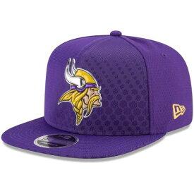 ニューエラ NEW ERA ミネソタ バイキングス ラッシュ スナップバック バッグ 紫 パープル キャップ 帽子 メンズキャップ メンズ 【 Minnesota Vikings 2017 Color Rush 9fifty Snapback Adjustable Hat - Purple