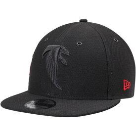 ニューエラ NEW ERA アトランタ ファルコンズ リベンジ ラッシュ 黒 ブラック 【 RUSH BLACK NEW ERA ATLANTA FALCONS KICKOFF REVERSE COLOR 9FIFTY ADJUSTABLE HAT 】 バッグ キャップ 帽子 メンズキャップ 帽