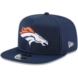 ニューエラ NEW ERA デンバー ブロンコス ラッシュ リベンジ チーム スナップバック バッグ 紺 ネイビー キャップ 帽子 メンズキャップ メンズ 【 Denver Broncos 2017 Color Rush Kickoff Reverse Team 9f
