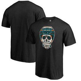 ファナティクス FANATICS BRANDED シャークス コレクション Tシャツ 黒 ブラック サンノゼ 【大きめ】 【 BLACK FANATICS BRANDED HOMETOWN COLLECTION LOCAL TSHIRT 】 メンズファッション トップス Tシャツ