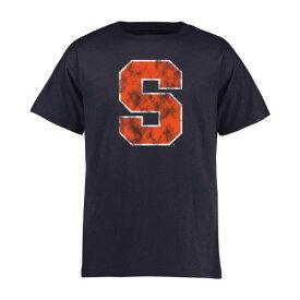 FANATICS BRANDED シラキュース 橙 オレンジ 子供用 クラシック Tシャツ 紺 ネイビー キッズ ベビー マタニティ トップス ジュニア 【 Syracuse Orange Youth Classic Primary T-shirt - Navy 】 Navy