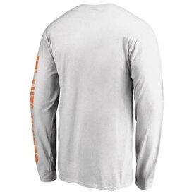 ファナティクス FANATICS BRANDED アトランタ ユナイテッド スリーブ Tシャツ 白色 ホワイト 長袖 【 SLEEVE FANATICS BRANDED HOMETOWN SWAGGER TSHIRT WHITE 】 メンズファッション トップス Tシャツ カット