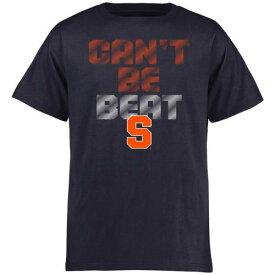 FANATICS BRANDED シラキュース 橙 オレンジ 子供用 Tシャツ 紺 ネイビー キッズ ベビー マタニティ トップス ジュニア 【 Syracuse Orange Youth Cant Be Beat T-shirt - Navy 】 Navy