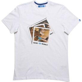 【海外限定】アディダス Tシャツ メンズファッション トップス 【 ADIDAS GIRL TEE WHITE 】