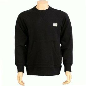 【 THE HUNDREDS PEELER CREWNECK BLACK 】 メンズファッション トップス Tシャツ カットソー 送料無料