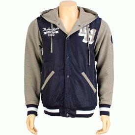 【 THE HUNDREDS RELOADED 2 JACKET NAVY 】 メンズファッション コート ジャケット 送料無料