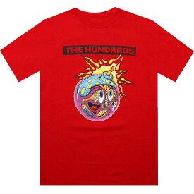Tシャツ 【 THE HUNDREDS SUB ADAM TEE RED 】 メンズファッション トップス カットソー 送料無料
