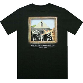 Tシャツ 【 THE HUNDREDS PITCHFORK TEE FOREST GREEN 】 メンズファッション トップス カットソー 送料無料