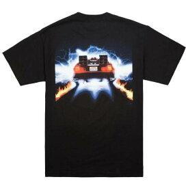 ベイト BAIT Tシャツ 黒色 ブラック 【 BAIT X BACK TO THE FUTURE MEN DELOREAN TEE BLACK 】 メンズファッション トップス Tシャツ カットソー