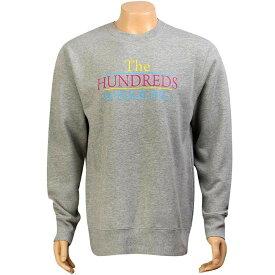 【 THE HUNDREDS WONDERS CREWNECK ATHLETIC HEATHER 】 メンズファッション トップス Tシャツ カットソー 送料無料