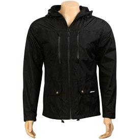 【 THE HUNDREDS SAGUARO JACKET BLACK 】 メンズファッション コート ジャケット 送料無料