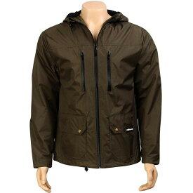 【 THE HUNDREDS SAGUARO JACKET OLIVE 】 メンズファッション コート ジャケット 送料無料