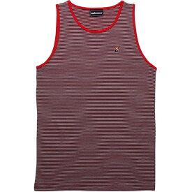 タンクトップ 【 THE HUNDREDS CHIKASAW TANK TOP RED 】 メンズファッション トップス 送料無料