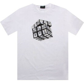 Tシャツ 【 THE HUNDREDS CUBED TEE WHITE 】 メンズファッション トップス カットソー 送料無料