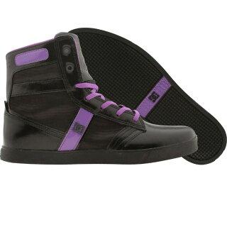 【海外限定】ディーシー コレクション レディース アドミラル スニーカー 靴 レディース靴 【 DC LIFE COLLECTION WOMENS ADMIRAL BLACK F PURPLE 】【送料無料】