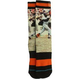 【海外限定】スタンス ジャイアンツ ソックス 靴下 インナー レッグウェア 【 STANCE X MLB SAN FRANCISCO GIANTS MCCOVEY COVE SOCKS ORANGE 】