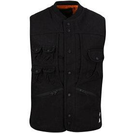 ディープ ベスト 【 10 DEEP MEN TACTICAL VEST BLACK 】 メンズファッション オーダーメイド ジレ 送料無料