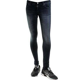 ヌーディージーンズ NUDIE JEANS CO ジーンズ 黒 ブラック 灰色 グレー グレイ 【 BLACK GRAY NUDIE JEANS CO TIGHT LONG JOHN 】 メンズファッション ズボン パンツ