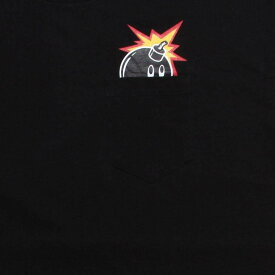 【海外限定】Tシャツ トップス 【 THE HUNDREDS PEEK A BOO TEE BLACK 】