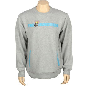 【海外限定】Tシャツ トップス 【 THE HUNDREDS ROO CREWNECK HEATHER GREY 】