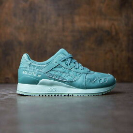 アシックス スニーカー 【 ASICS TIGER WOMEN GELLYTE III GREEN BAY AGATE 】 送料無料