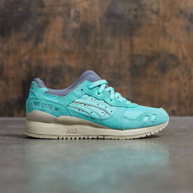 アシックス スニーカー 【 ASICS TIGER WOMEN GELLYTE III GREEN COCKATOO 】 送料無料