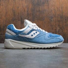 【海外限定】サッカニー メンズ靴 靴 【 SAUCONY MEN GRID 8500 BORO PACK BLUE WASHED DENIM 】