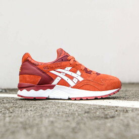 アシックス スニーカー 【 ASICS TIGER WOMEN GELLYTE V RED CHILI WHITE 】 送料無料