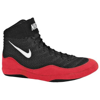 Nike NIKE INFLICT 3 MENS mens BLACK black & white GAME game RED red black WHITE white-red sneakers