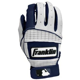 富兰克林富兰克林新新经典二击球击球手套男装男装经典海军蓝色 / 白色白色 / 白色配件