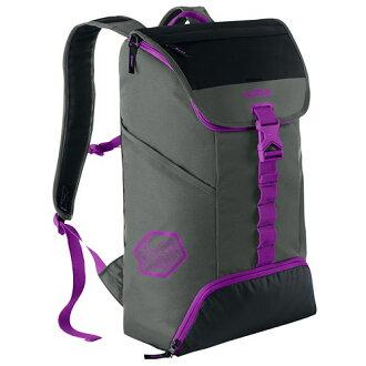 耐克NIKE LEBRON露华浓MAX最大AIR空气AMBASSADOR大使2.0 BACKPACK背包包帆布背包TUMBLED GREY GRAY灰色、灰色BLACK黑、黑色VIVID PURPLE紫色、紫