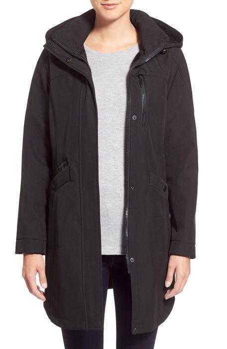 ソフト シェル ジャケット shell crossdye hooded soft jacket アウター レディースファッション コート