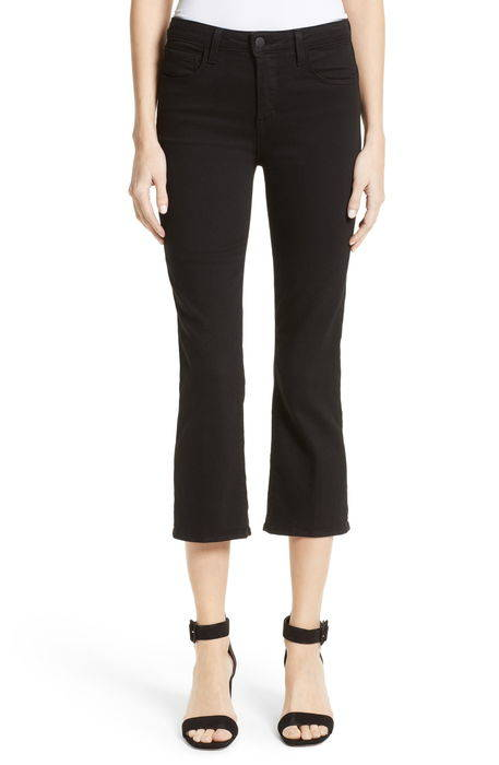 serena high waist crop flare jeans セレナ ハイ ウェスト クロップ フレアー パンツ ボトムス レディースファッション