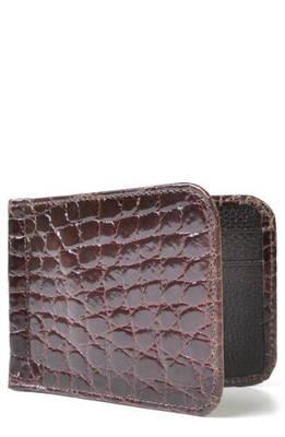アメリカン レザー マネー クリップ ウォレット 財布 '' joseph genuine american alligator leather money clip wallet ブランド雑貨 小物 バッグ ケース クレジットカードケース