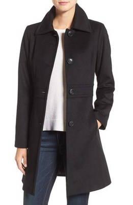 ウール ブレンド ウォーキング コート wool blend walking coat レディースファッション ジャケット アウター