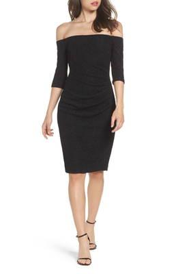 スパークル ニット オフ ショルダー ドレス ワンピース sparkle knit off the shoulder dress レディースファッション
