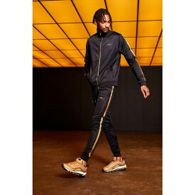 fd7b4d12e867 【海外限定】boohoo boohooman ブーフー 【 gold man embroidered funnel neck tricot  tracksuit with