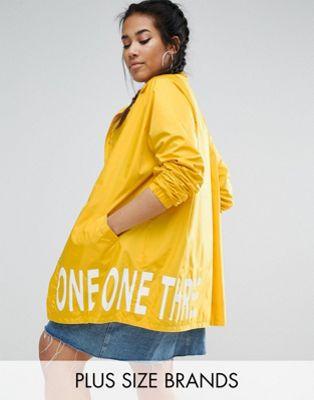One One Three Rain Jacket ジャケット With Printed Lining
