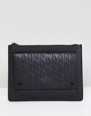 ジューシー クチュール クラッチ バッグ 黒 ブラック レディース 女性用 小物 【 BLACK JUICY COUTURE CLUTCH BAG 】