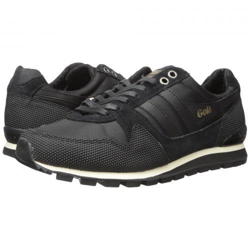 ゴーラ メンズ 男性用 メンズ靴 靴 スニーカー 【 GOLA RIDGERUNNER II BLACK 】