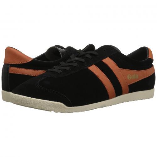 ゴーラ ブレット スエード スウェード 橙 オレンジ メンズ 男性用 スニーカー 靴 メンズ靴 【 ORANGE GOLA BULLET SUEDE BLACK MOODY 】