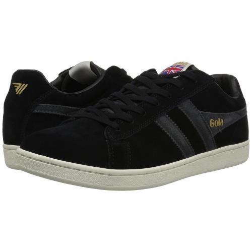 ゴーラ エキップ スエード スウェード メンズ 男性用 スニーカー 靴 メンズ靴 【 GOLA EQUIPE SUEDE BLACK GRAPHITE OFFWHITE 】