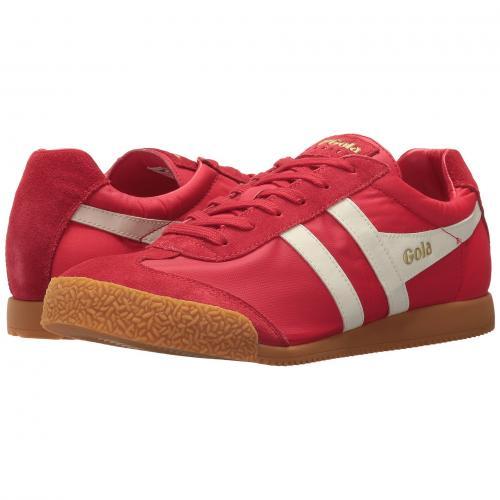 ゴーラ ハリアー ナイロン メンズ 男性用 靴 スニーカー メンズ靴 【 GOLA HARRIER NYLON RED OFFWHITE 】