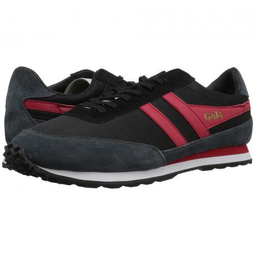 ゴーラ フライヤー メンズ 男性用 スニーカー 靴 メンズ靴 【 GOLA FLYER BLACK GRAPHITE RED 】