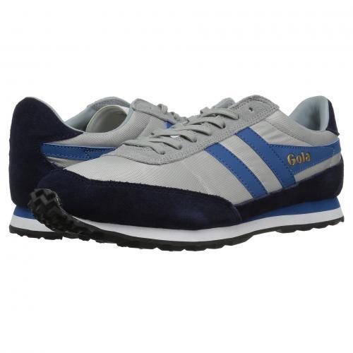 ゴーラ フライヤー 青 ブルー メンズ 男性用 靴 メンズ靴 スニーカー 【 BLUE GOLA FLYER GREY NAVY MARINE 】