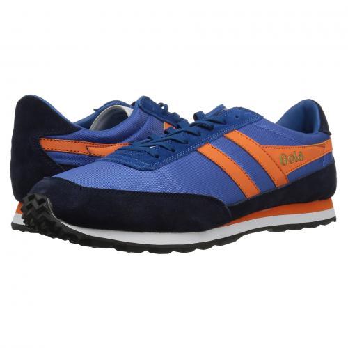 ゴーラ フライヤー マリン メンズ 男性用 靴 スニーカー メンズ靴 【 GOLA FLYER MARINE BLUE NAVY ORANGE 】