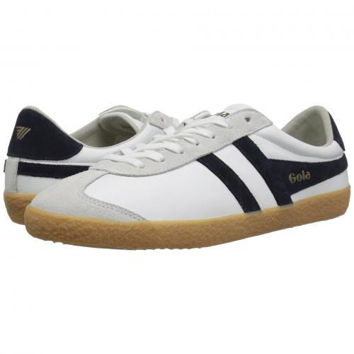 ゴーラ スペシャリスト レザー メンズ 男性用 スニーカー メンズ靴 靴 【 GOLA SPECIALIST LEATHER WHITE NAVY GUM 】